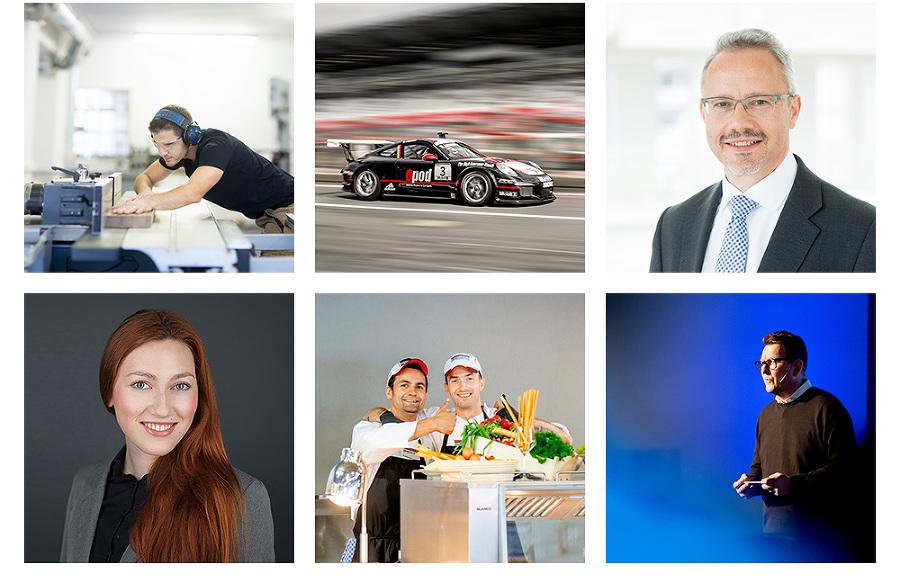 Verschiede Fotos aus dem Eventbereich, Motorsport, Industrie und Businessportraits